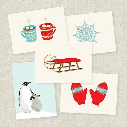 Fun in the Snow Correspondence Set