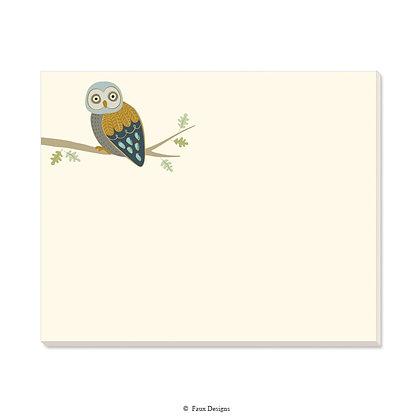 Owl Desk Pad