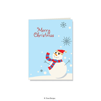 Merry Christmas - Frosty