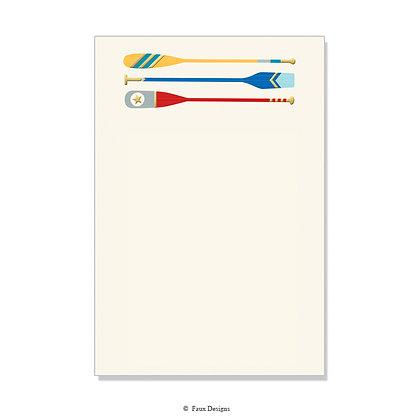 Oars Invitation - Blank