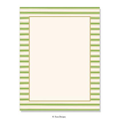 Chilmark Avocado Green 8.5 x 11 Sheet