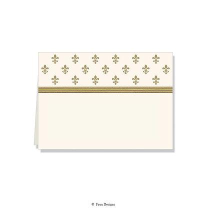 Petite Fleur Folded Note