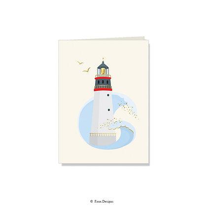 Lighthouse Folded Note
