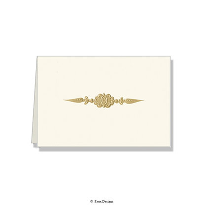 Ornament Folded Note