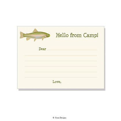 Trout Fill-in Camp Note