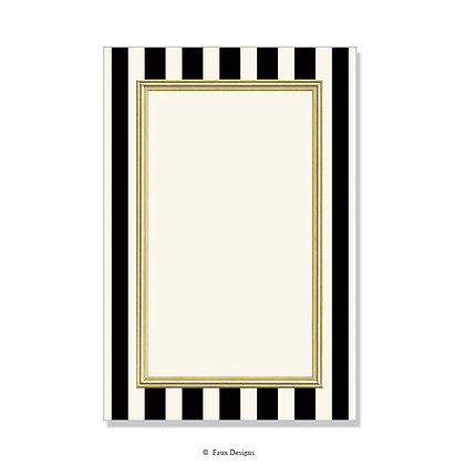 Polo Black Invitation - Blank
