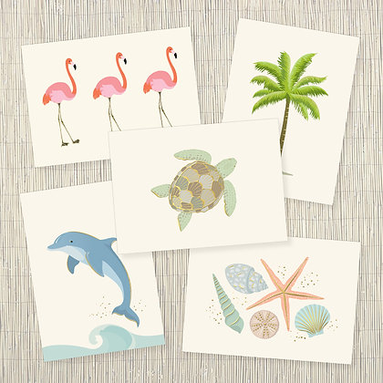 Coastal Beauty Correspondence Set