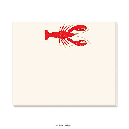 Lobster Desk Pad