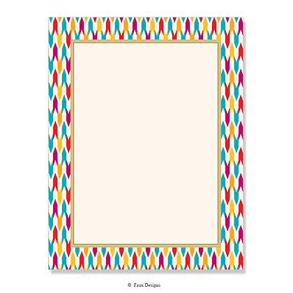 Fletcher Jewels 8.5 x 11 Sheet