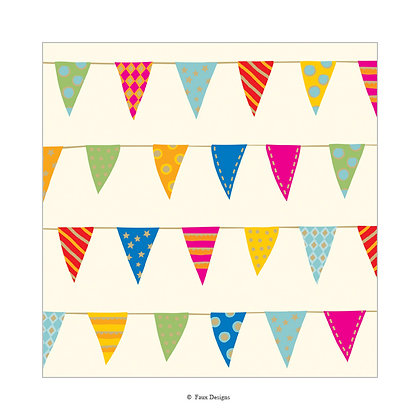 Party Banner Gift Wrap