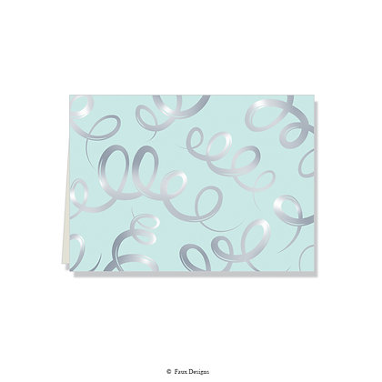 Champagne Mint Folded Note