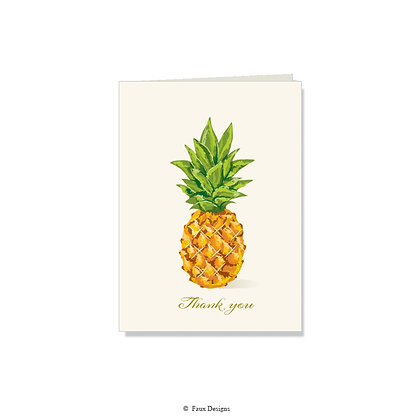 Thank You - Pineapple