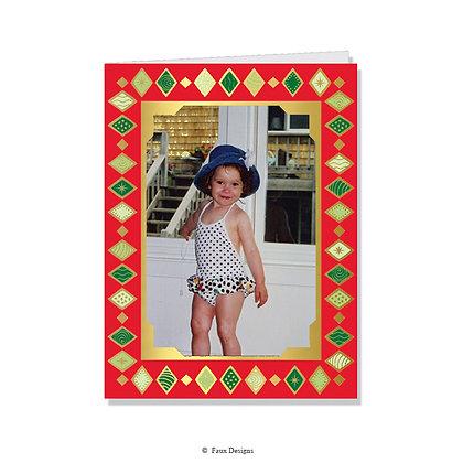 Harlequin Photo Card