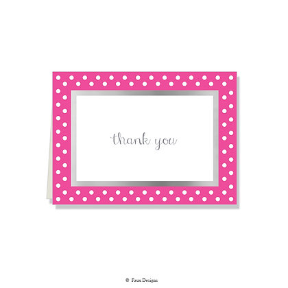 Thank You - Polka Dots