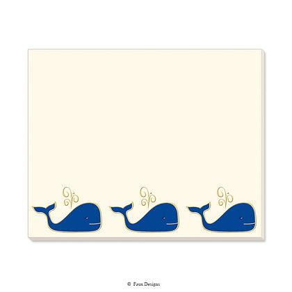 Whales Desk Pad