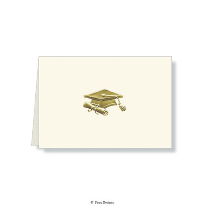 Graduation Folded Note