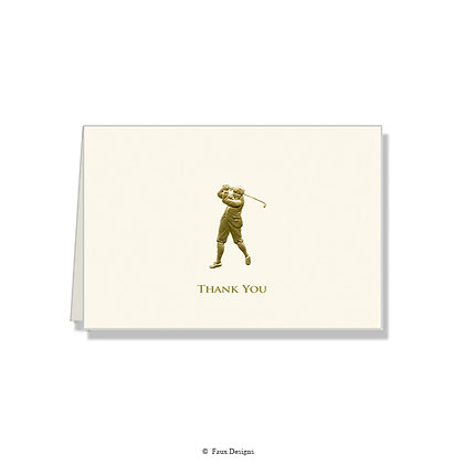 Thank You - Golfer