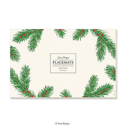 Holiday Pine Placemat