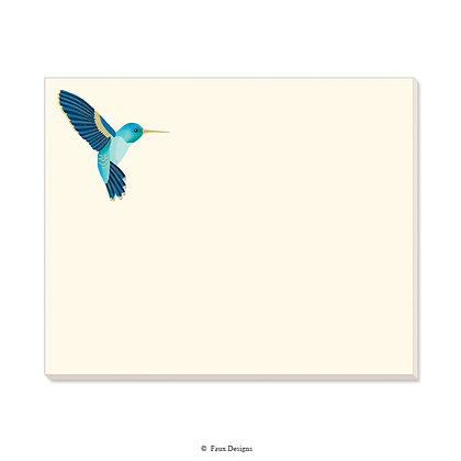 Hummingbird Desk Pad