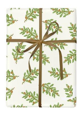 Pine Bough Gift Wrap