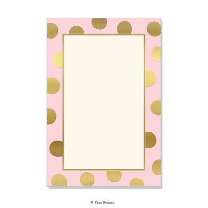 Felicity Blush Invitation - Blank