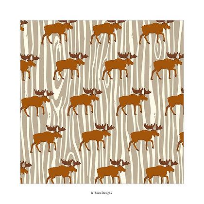 Moose Gift Wrap