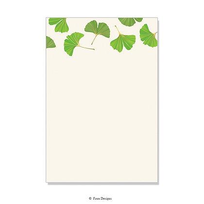Ginkgo Invitation - Blank