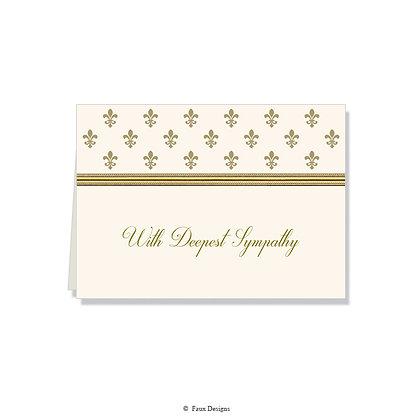 With Deepest Sympathy - Petite Fleur