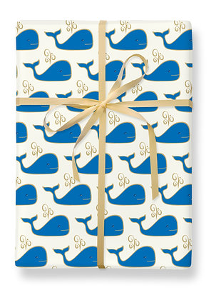 Whale Gift Wrap