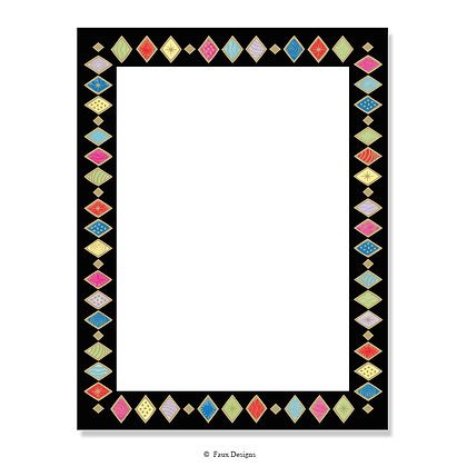 Harlequin Multi 8.5 x 11 Sheet