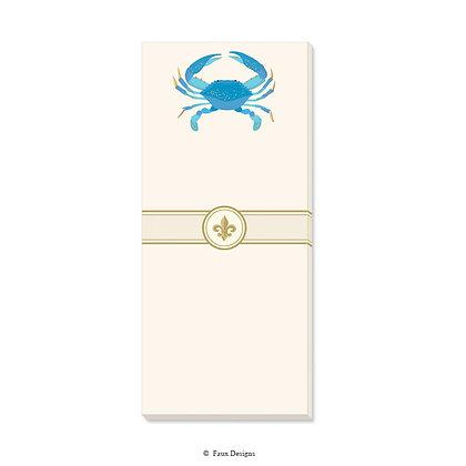 Blue Crab Gift Pad