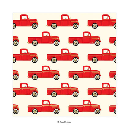 Truck Gift Wrap