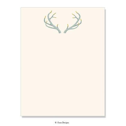 Antlers 8.5 x 11 Sheet