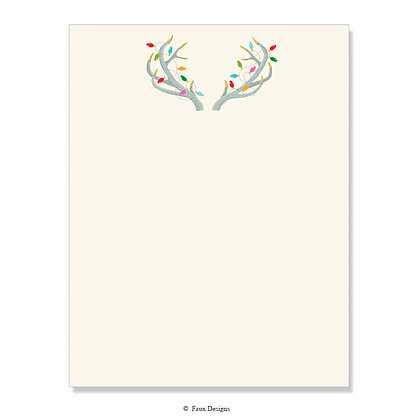 Holiday Antlers 8.5 x 11 Sheet
