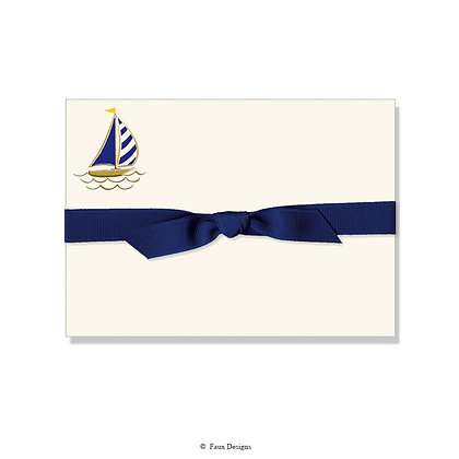 Sail Boat Petite Note