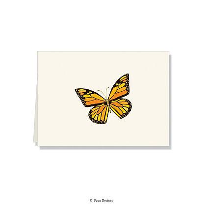 Butterfly Folded Note