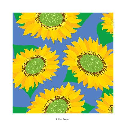 Sunflower Gift Wrap