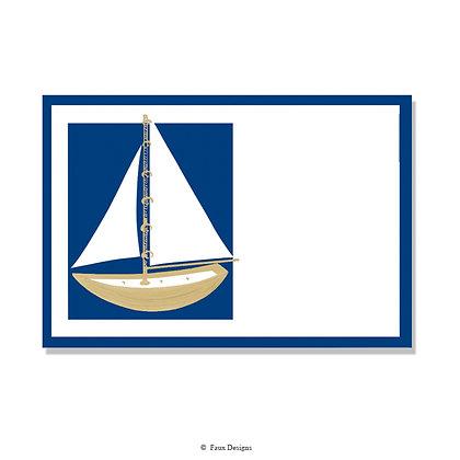 Boating Invitation - Blank