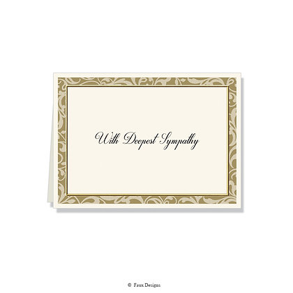 With Deepest Sympathy - Baroque
