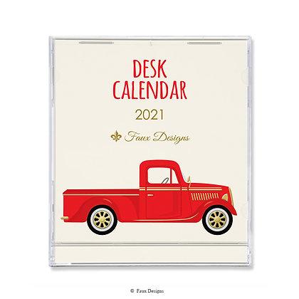 2021 Desk Calendar Truck
