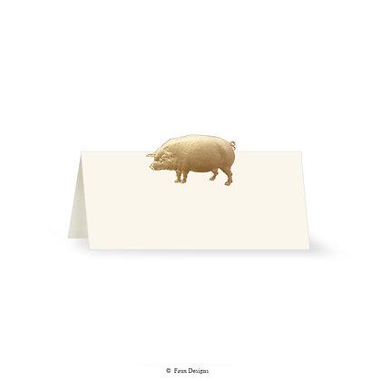 Pig Placecard