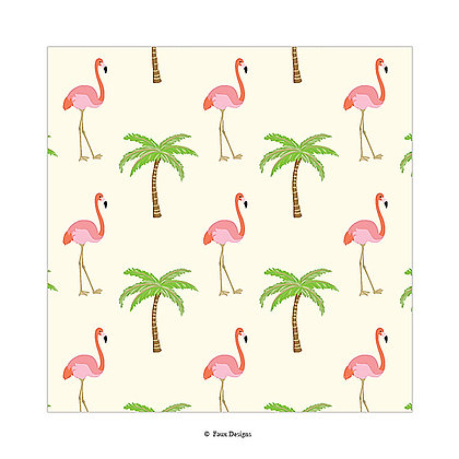 Flamingo Gift Wrap
