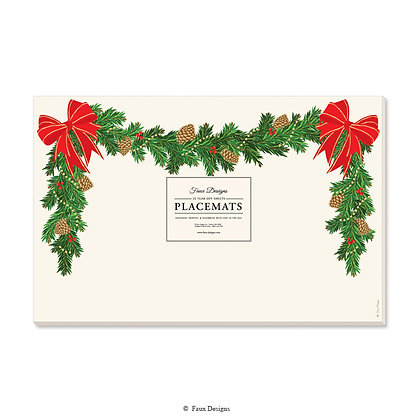 Holiday Garland Placemat
