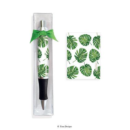 Tropical Leaf Pen
