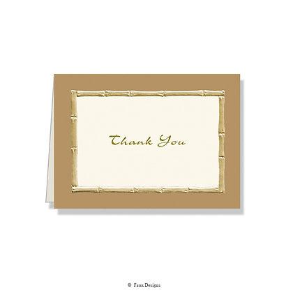 Thank You - Bamboo Nutmeg