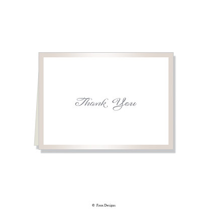 Thank You - Pearl on White