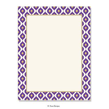 Mendoza Violet 8.5 x 11 Sheet