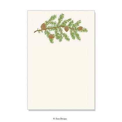 Pine Bough Invitation - Blank