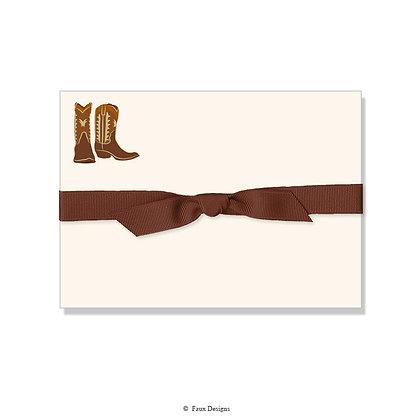 Cowboy Boots Petite Note