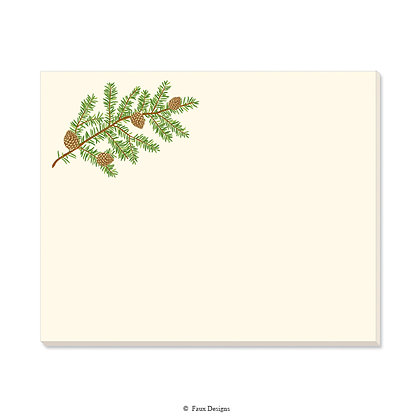 Pine Bough Desk Pad